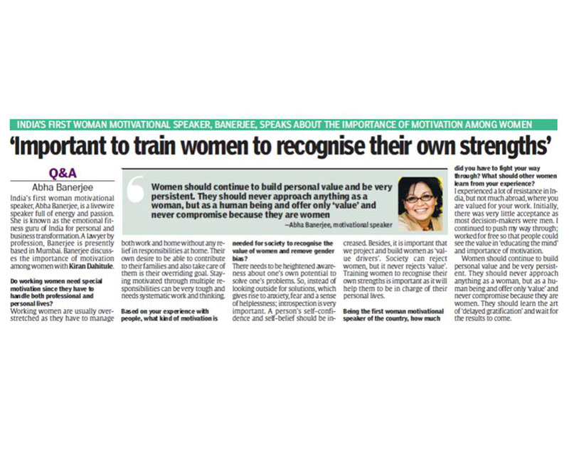 important-to-train-women