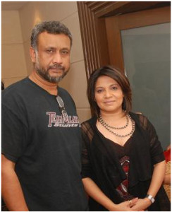 Anubhav-Sinha-(Director-Raone)-with-Abha-Banerjee