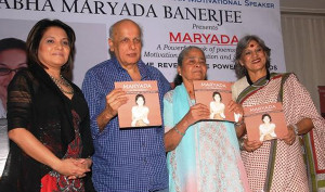 Abha Banerjee With Mahesh Bhatt and Dolly Thakore